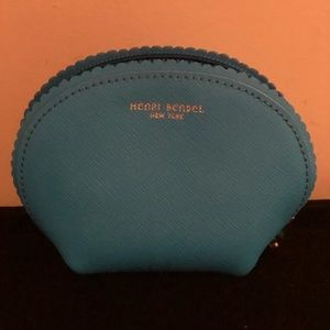 Henri Bendel scalloped mini Cosmetic Travel Bag